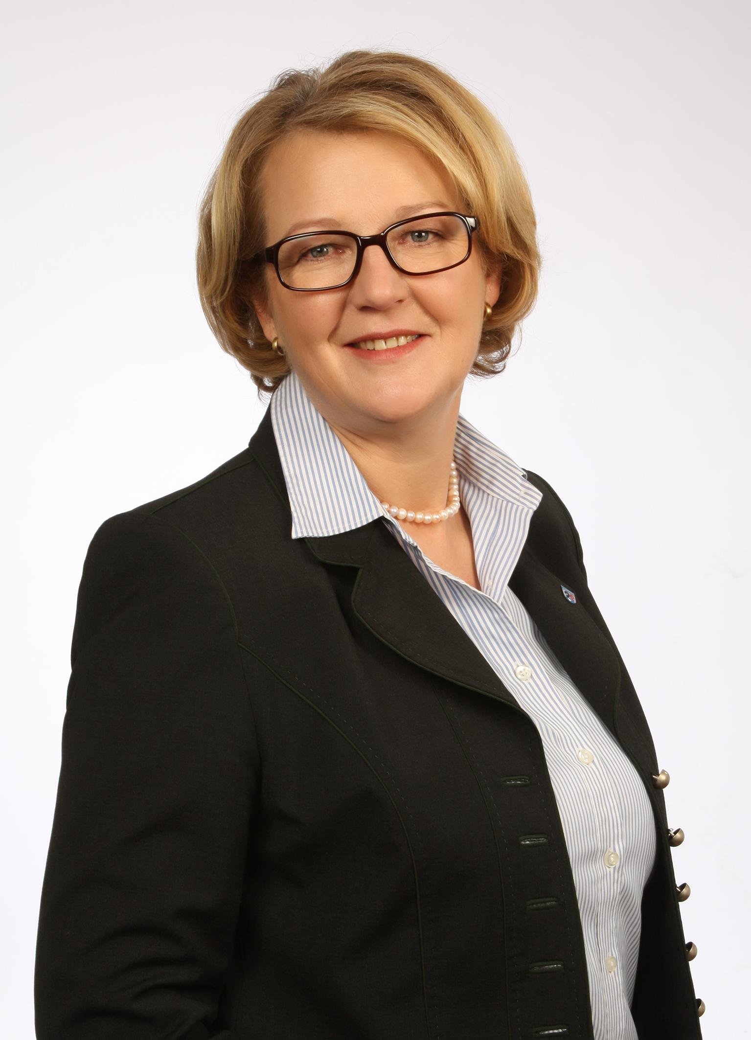 Erste Bürgermeisterin Luise Hausberger