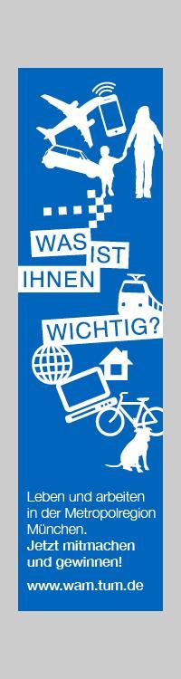 Die TU München startet eine Studie - machen Sie mit!