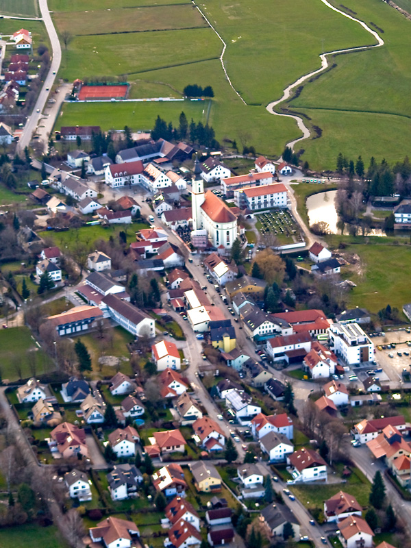 Luftbild Alftraunhofen